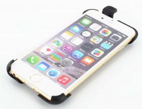 Apple iPhone 8+/7+/6s+/6+ Handyhalterung mit 4-Loch-Rastsystem