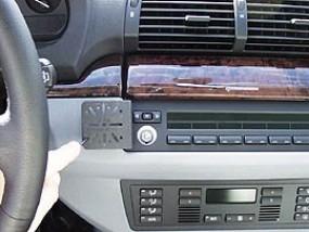 BMW X5 mit kleiner Werks-Navigation DashMount Baujahr 2002 bis 03/2007 KFZ Navi Handy Halterung