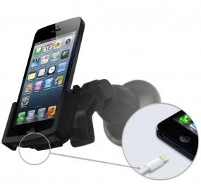 Apple iPhone SE / 5 / 5s Fix2Car Handy Auto Halterung mit Saughalterung