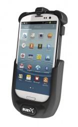 Bury System 8 Samsung i9300 Galaxy S3 Take & Talk Halterung für CarTalk Freisprecheinrichtung