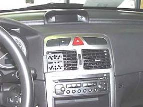 PEUGEOT 307 SW DashMount Baujahr 2002 bis 2007 KFZ Navi Handy Halterung