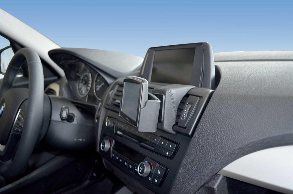 bmw 1er f20 und 2er cabrio f22 2er coupe f23 kfz navi halterung konsole von kuda. Black Bedroom Furniture Sets. Home Design Ideas