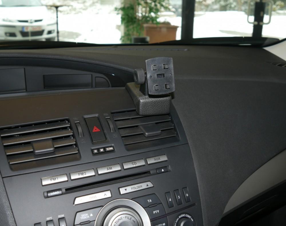 mazda 3 baujahr ab 03 2009 kfz navi konsole mit halterung. Black Bedroom Furniture Sets. Home Design Ideas