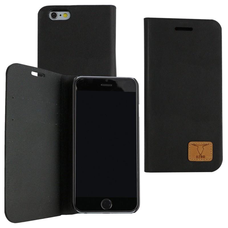 iphone 6 6s book case ozbo schwarz taschen iphone 6. Black Bedroom Furniture Sets. Home Design Ideas