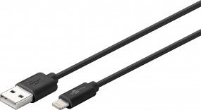 goobay iPhone Lightning USB Lade- und Syncronisationskabel MFi zertifiziert