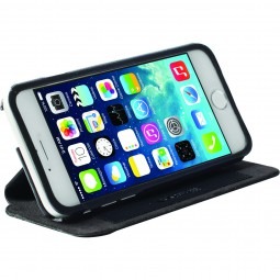 iPhone 6 / 6s Krusell FlipCase Stand Malmö schwarz