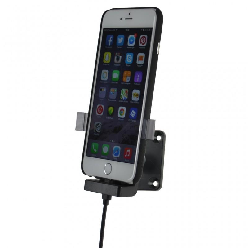 iphone 6s plus cover handyhalterung mit ladefunktion. Black Bedroom Furniture Sets. Home Design Ideas