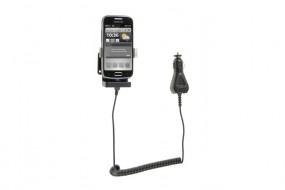Samsung Galaxy S3 mini / S4 mini Fix2Car Handy Auto Aktiv Lade-Halterung mit Gelenksockel