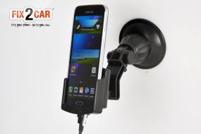 Samsung Galaxy S5 Fix2Car aktive Handyhalterung, Lade-Halterung mit Saughalterung
