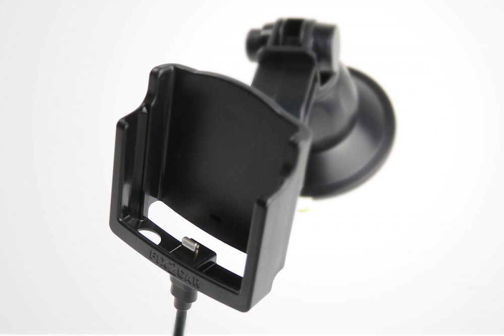 iphone 6 fix2car aktive handyhalterung lade halterung mit saughalterung handy halterungen. Black Bedroom Furniture Sets. Home Design Ideas