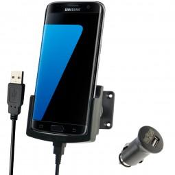 Samsung Galaxy S7 edge Fix2Car aktive Handyhalterung, Lade-Halterung mit Gelenksockel