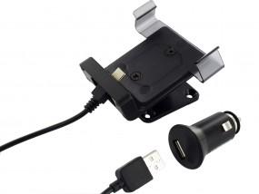 USB-C Universal Smartphone Ladehalterung für Geräte 63-80mm Breite