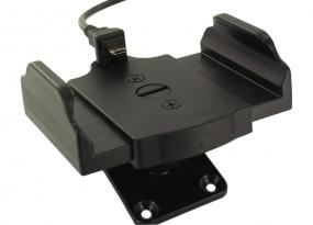 telebox USB-C / Micro-USB universal Handyhalterung mit Ladefunktion