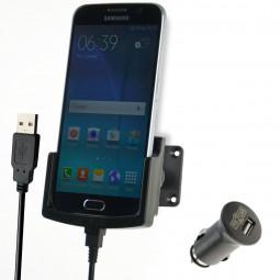 Samsung Galaxy S6 Fix2Car aktive Handyhalterung, Lade-Halterung mit Gelenksockel