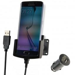 Samsung Galaxy S6 edge Fix2Car aktive Handyhalterung, Lade-Halterung mit Gelenksockel