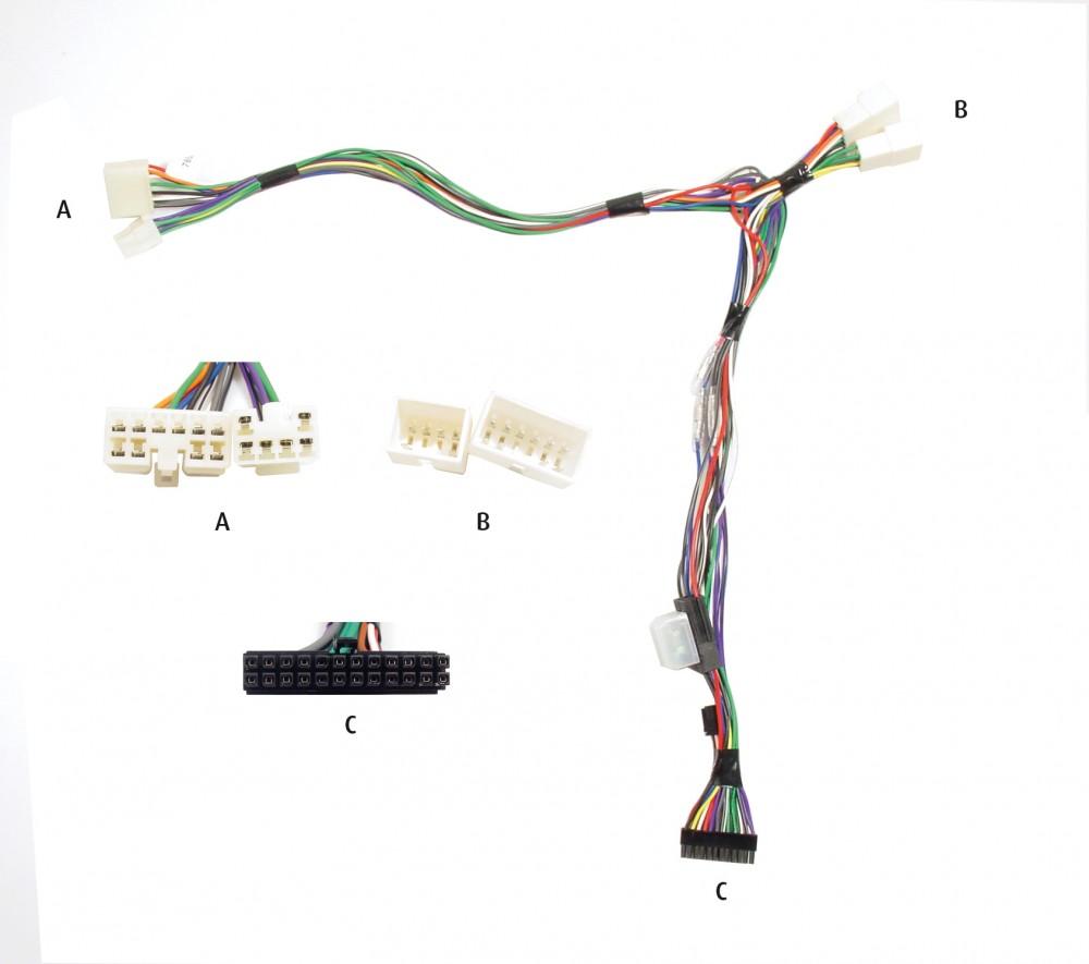 Radioanschlusskabel Adapter Anschlusskabel Toyota Starlet 1993 />