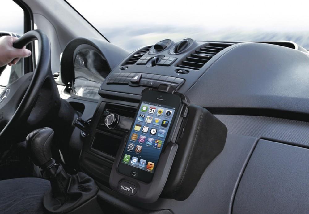 bury apple iphone 5 5s system 8 take talk halterung. Black Bedroom Furniture Sets. Home Design Ideas