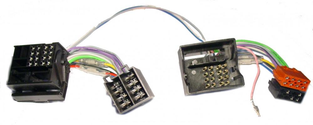 Audi SEAT VW Skoda Quadlock Parrot THB FWD Freisprechadapter auf ISO Steckern