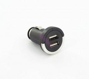 Universal 2-fach-USB KFZ Mini-Ladegerät mit bis zu 2100mAh