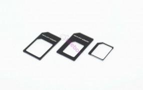 Nano-Micro-SIM-Kartenadapter / Kartenwandler Plug-In-Adapter-Set