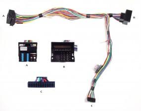 Audi / Seat / Skoda / VW Audio2Car Anschlußkabel zu Bury / Parrot Freisprecheinrichtungen