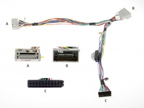 Honda Audio2Car Anschlußkabel zu Bury / Parrot Freisprecheinrichtungen