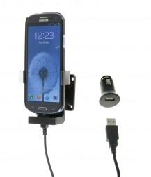Samsung Galaxy S7 S4 / S3 Fix2Car Handy Auto Aktiv Bumper-Lade-Halterung mit Gelenksockel