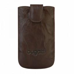 bugatti SlimCase Unique Leather tobacco Size L (120x78x16mm)