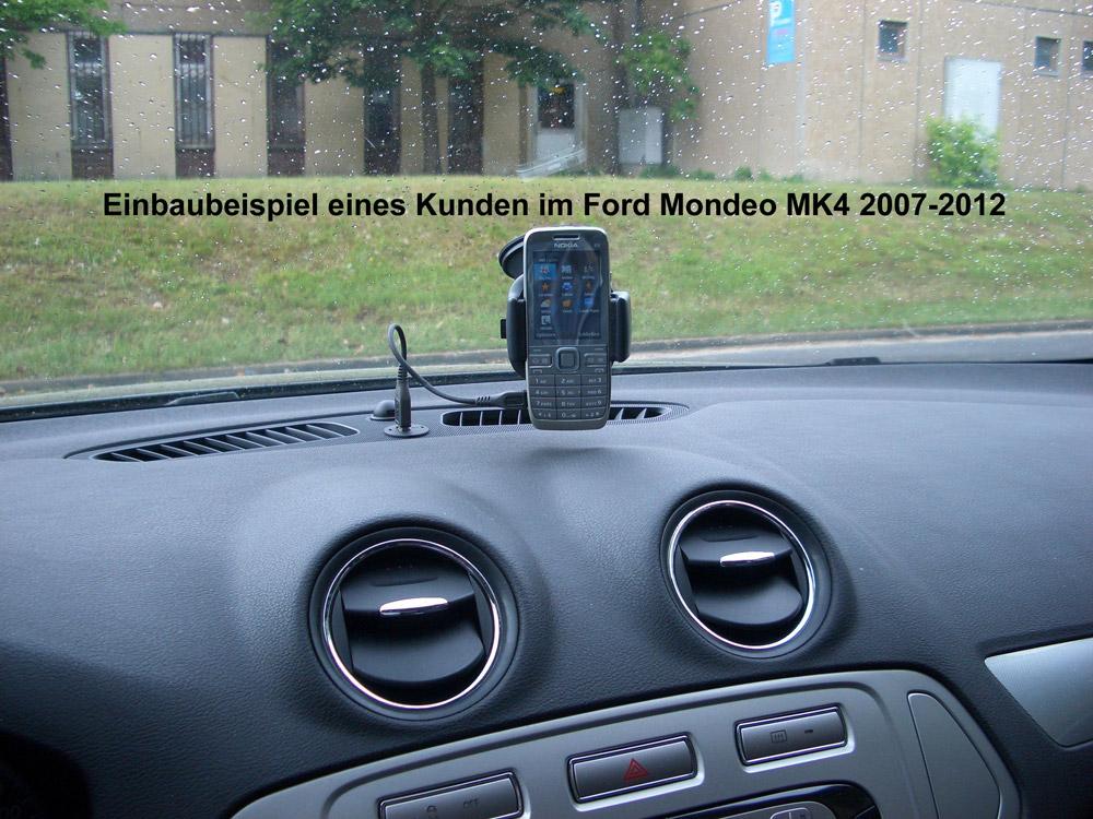 Einbau einer USB Steckdose in Ford Mondeo MK4