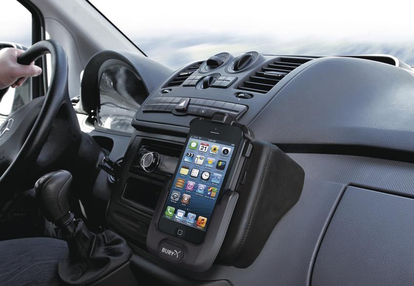 Bury iPhone 5 System 9 und Take and Talk Halterung